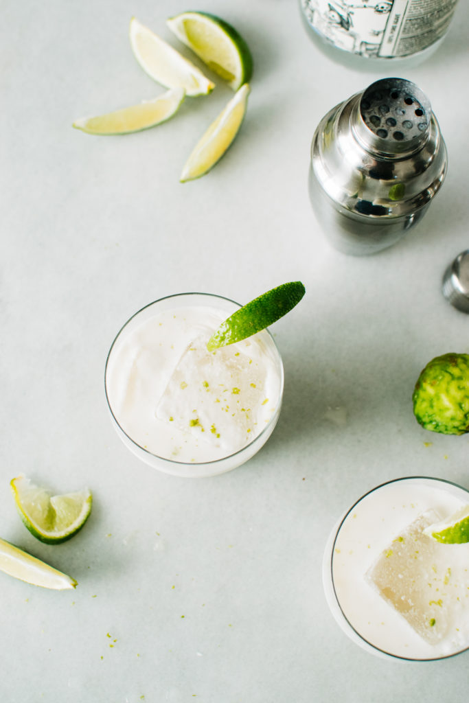 COCONUT KAFFIRITAS WITH TEQUILA & LIME. | Kale and Caramel