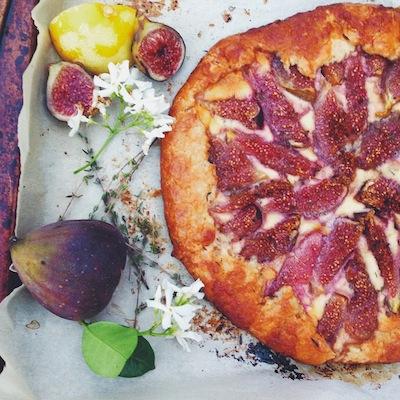 Fig Galette Recipe — Dishmaps
