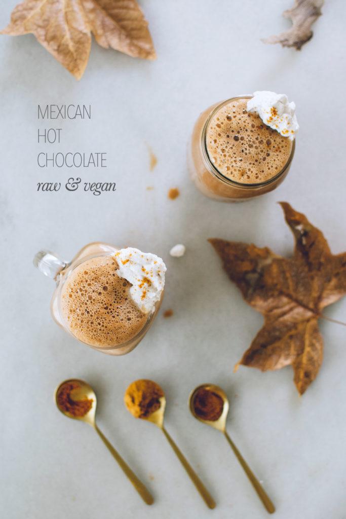 MEXICAN HOT CHOCOLATE (RAW & VEGAN) + FALL COZY FAIR TRADE ...