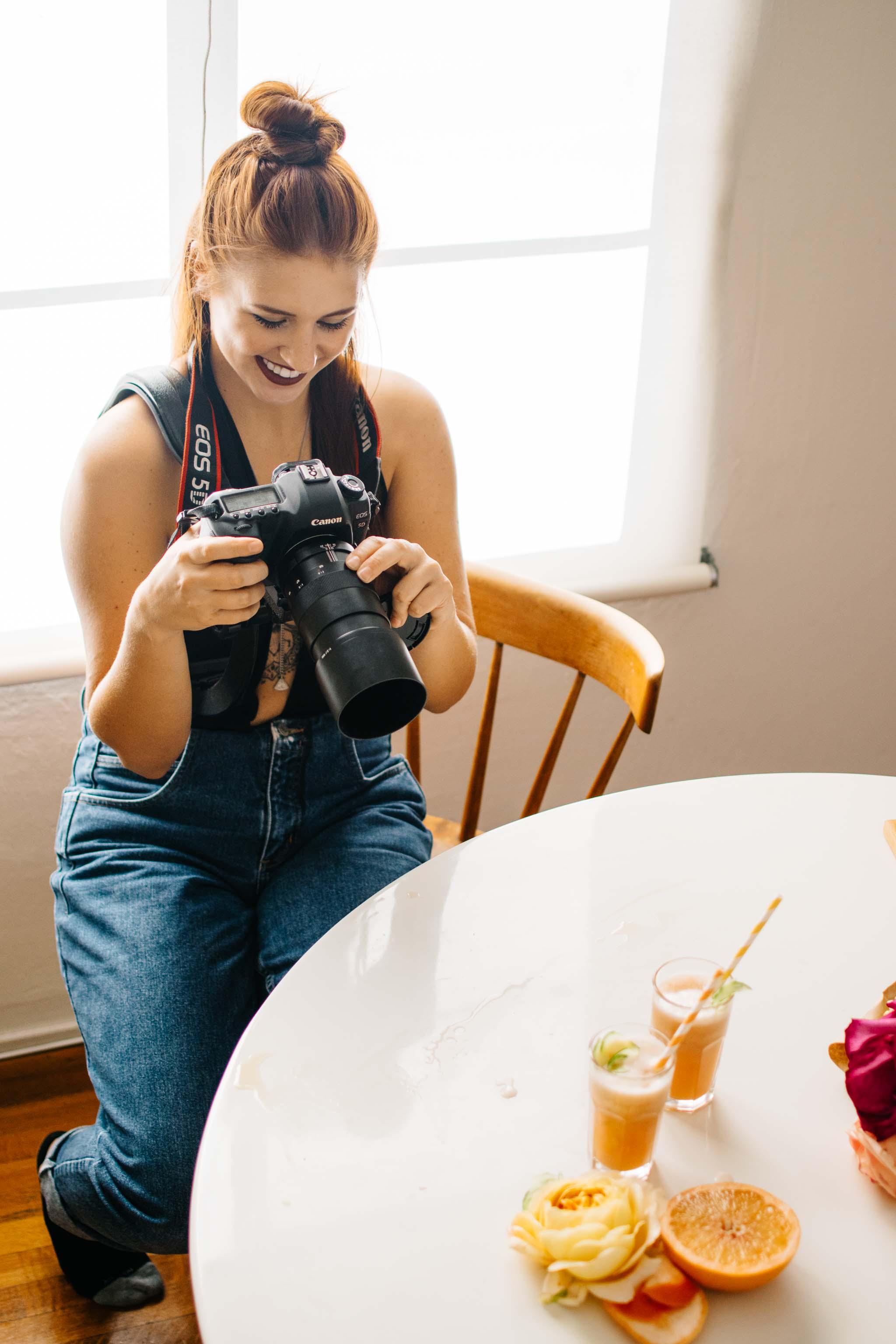 haley davis video shoot kale & caramel