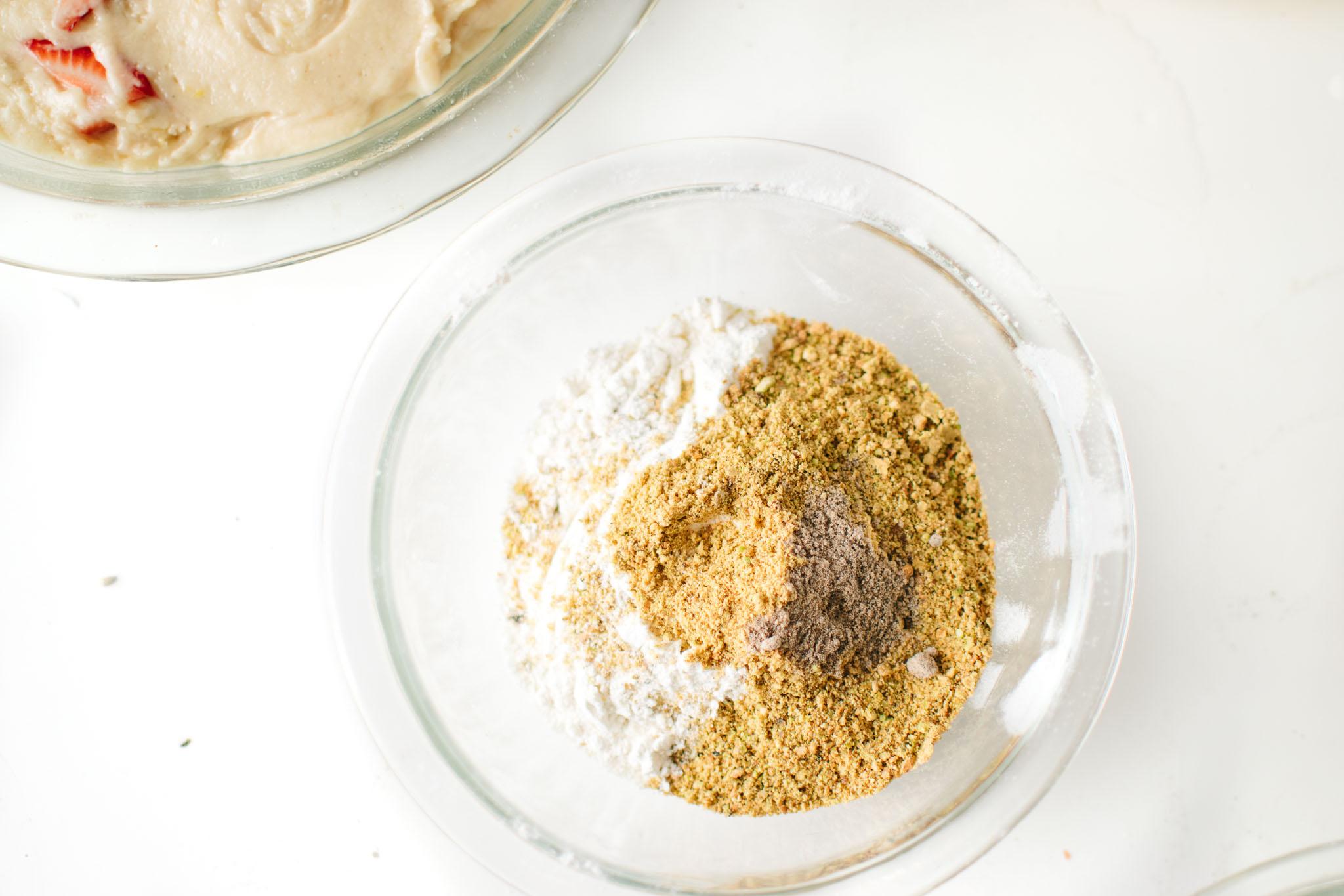 pistachio crumble dry mix
