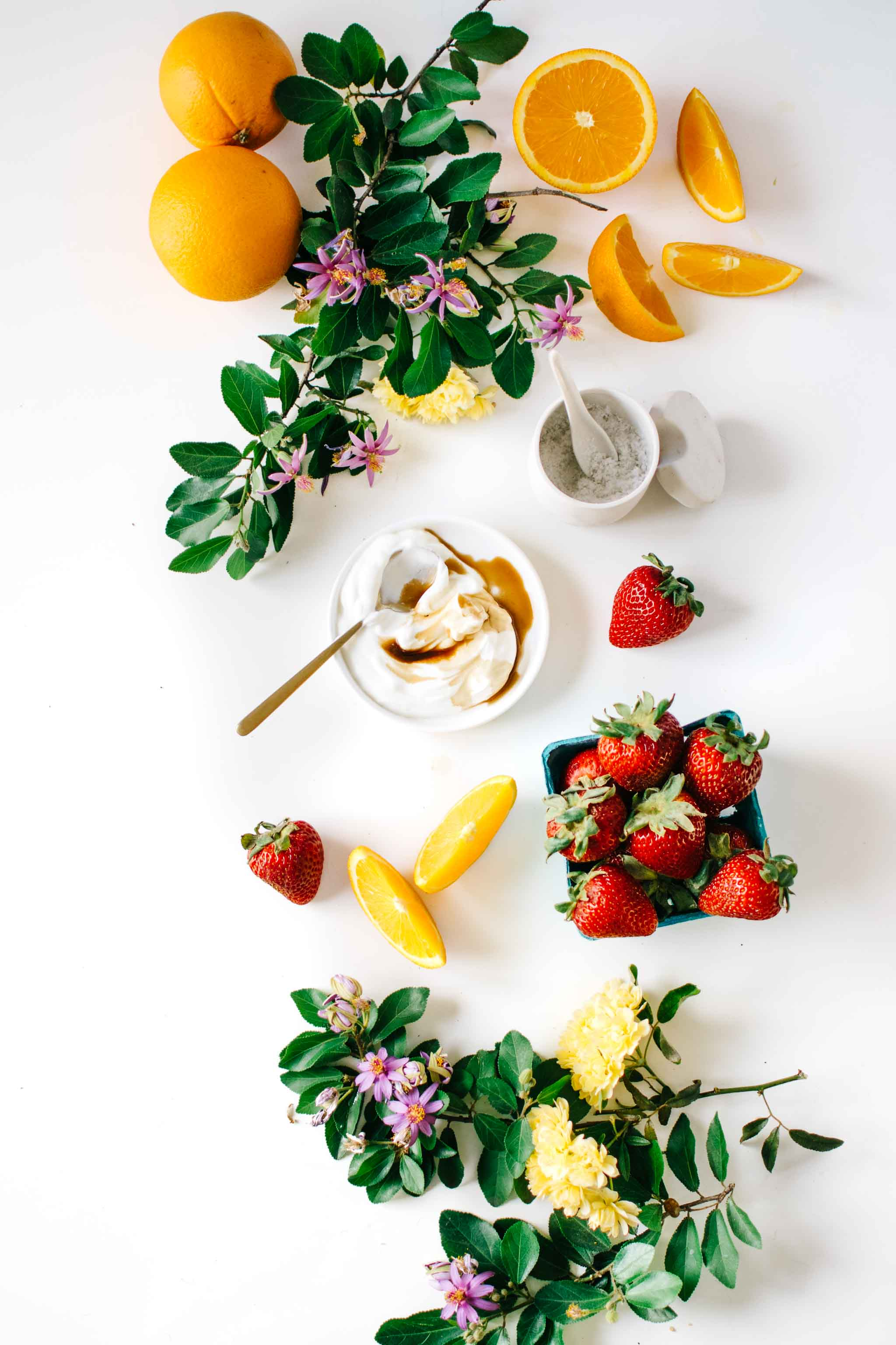Ingredients Strawberry Orange Blossom Creamsicle Smoothie