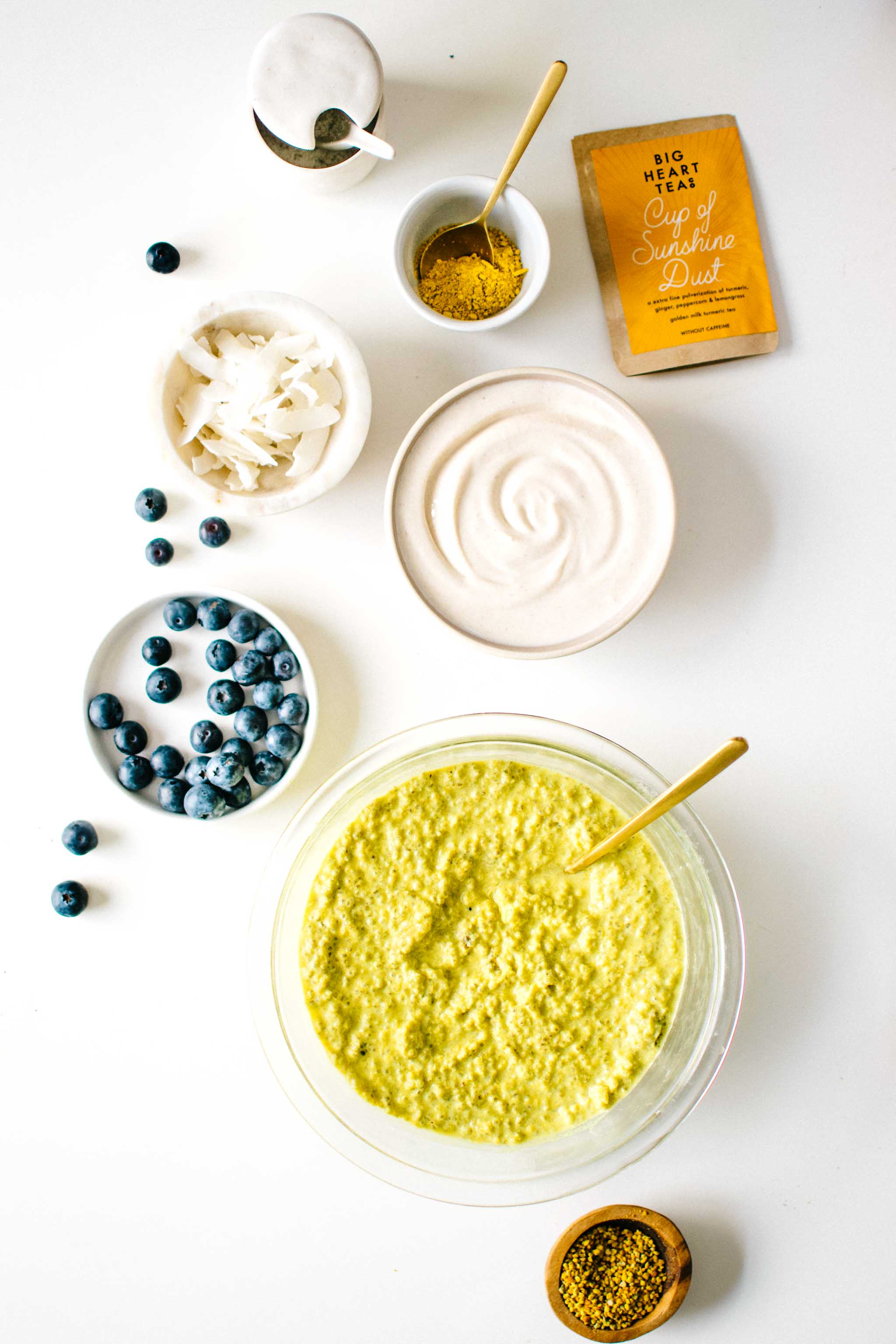 Golden Milk Chia Pudding from The Wellness Project