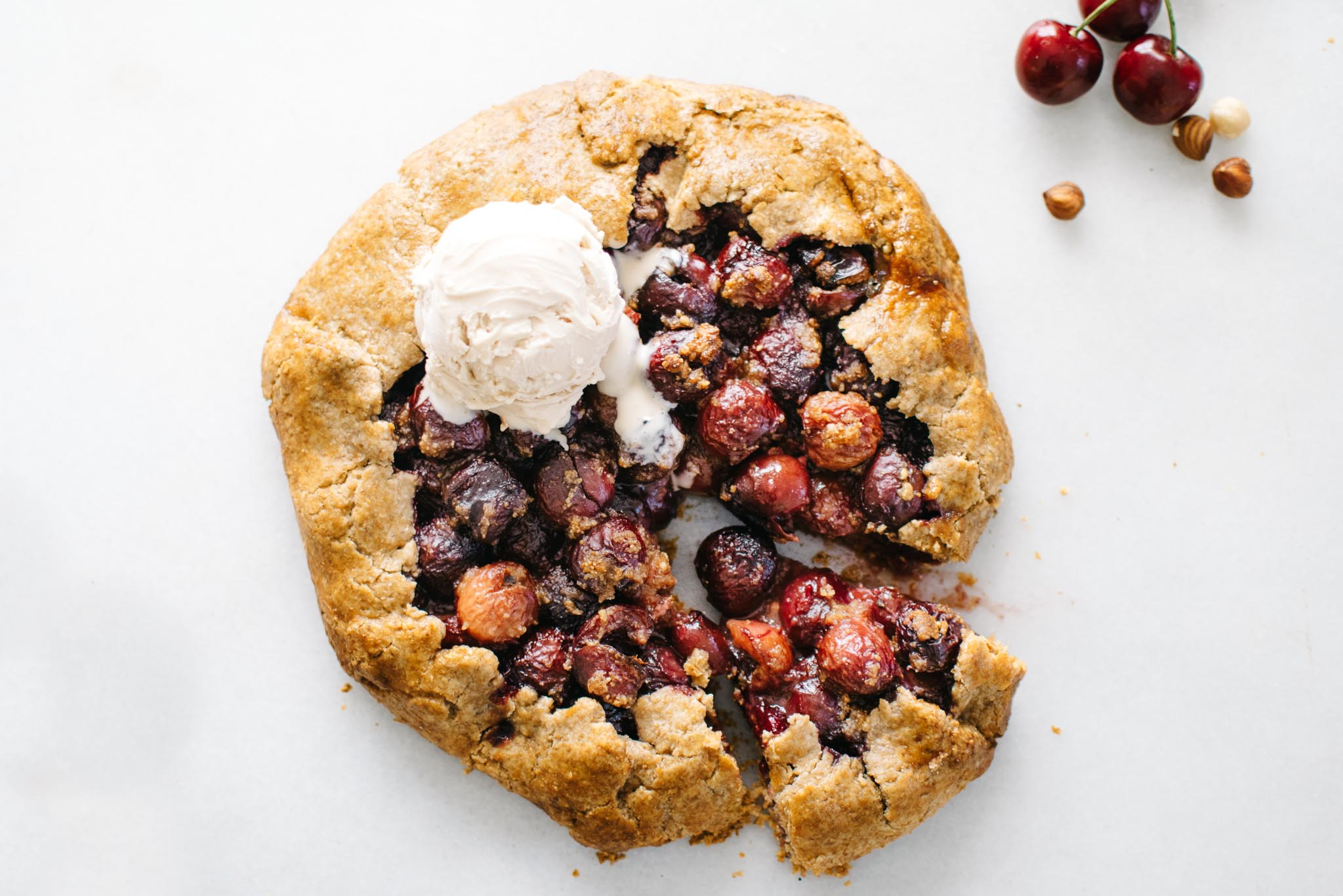 HAZELNUT CHERRY GALETTE + SAN FRANCISCO BOOK LAUNCH!