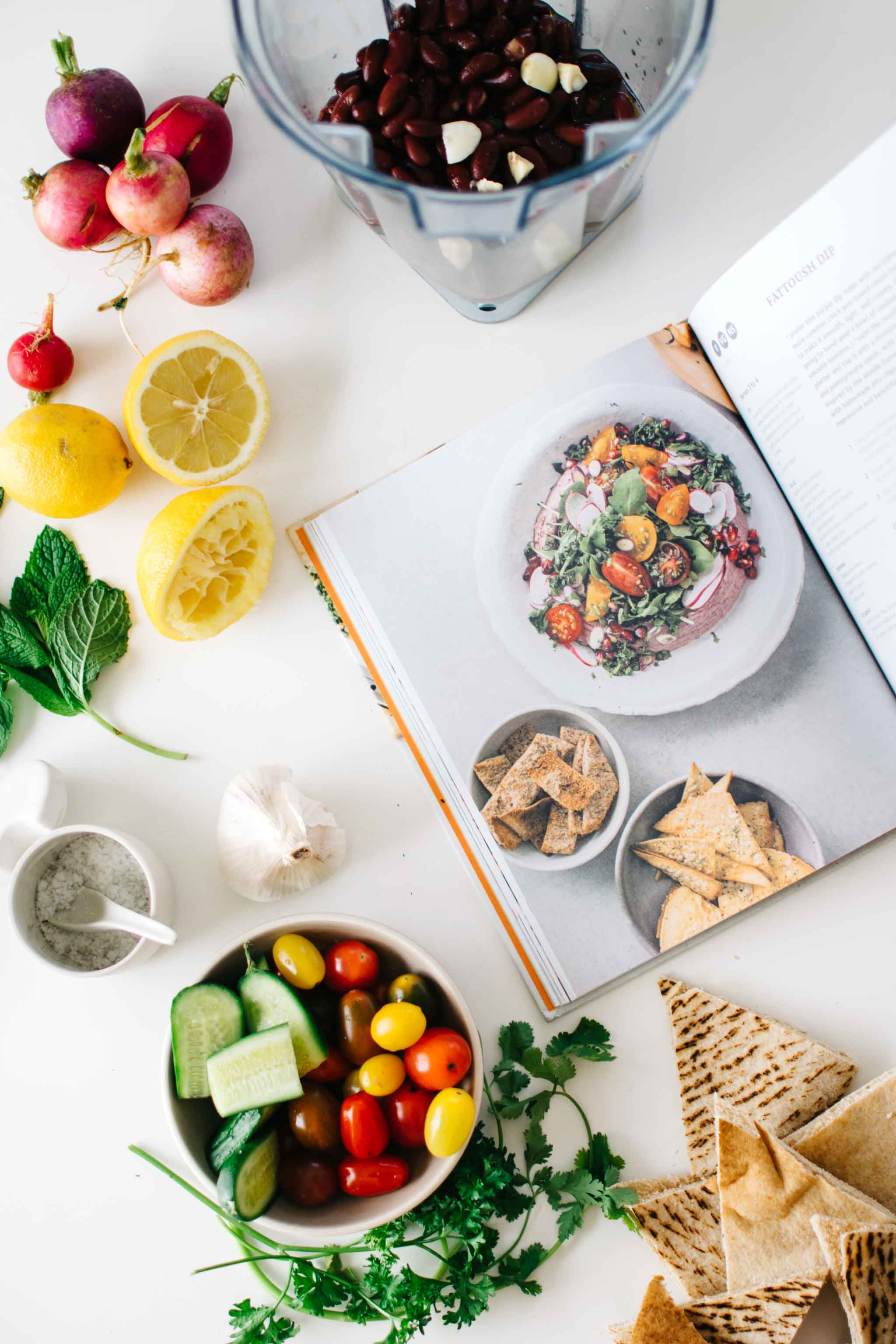 Fattoush Dip from The Savvy Cook