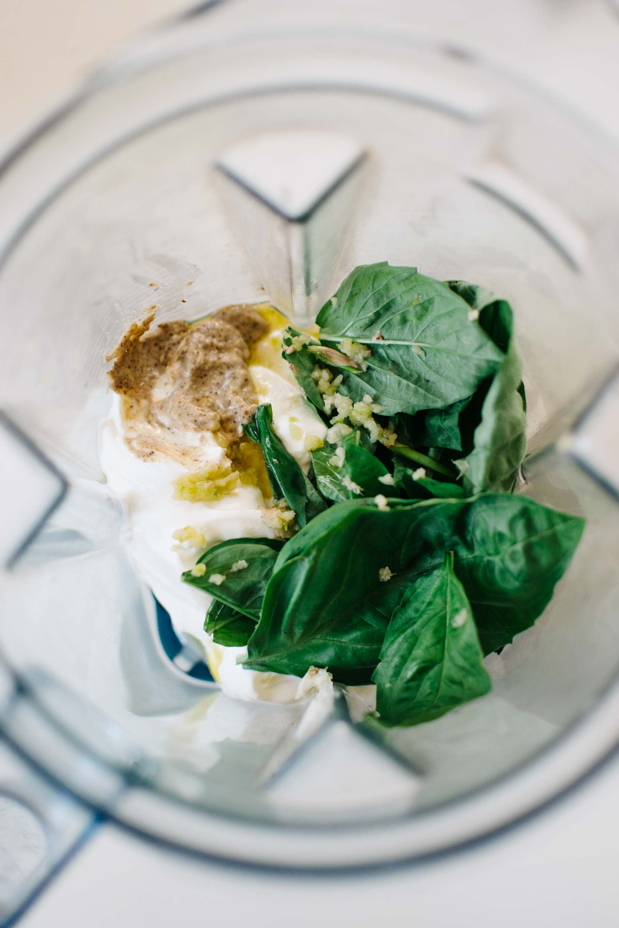Pesto Yogurt Dip & The Ultimate Veggie Board
