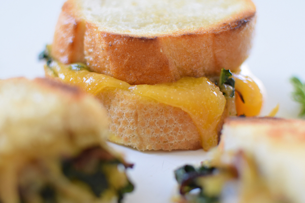 CARAMELIZED FENNEL, ONION & KALE GRILLED CHEESE. | Kale ...