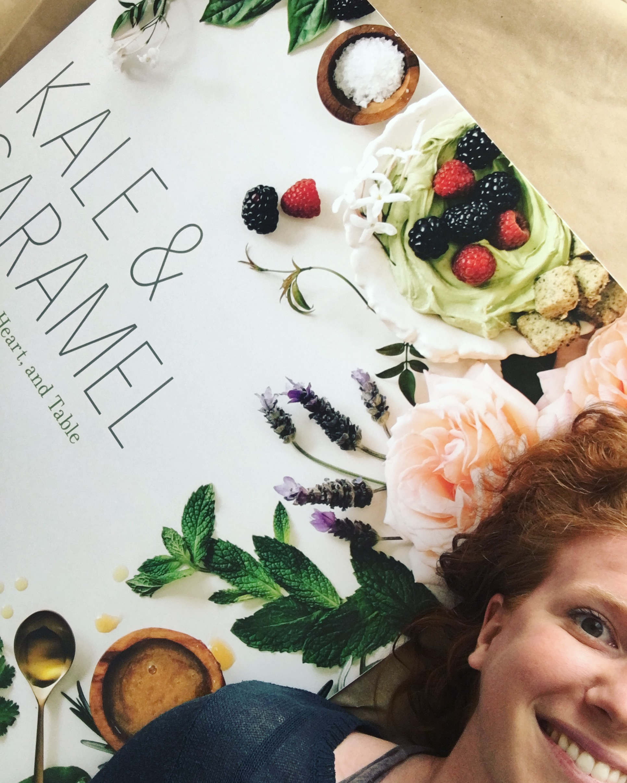 Selfie Kale & Caramel Cover Poster
