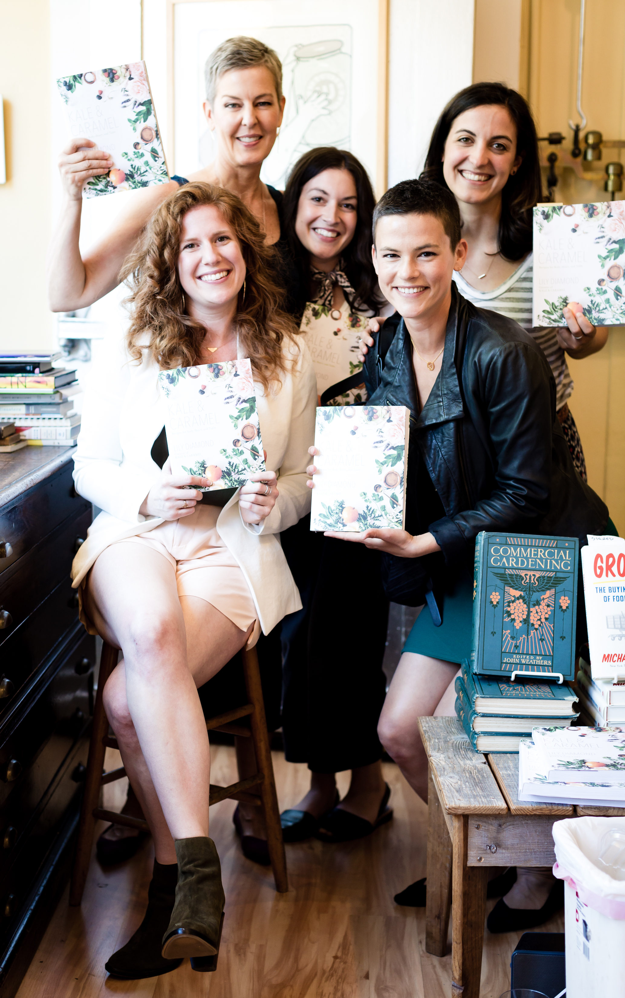 Lily & Friends in San Francisco for Kale & Caramel at Omnivore
