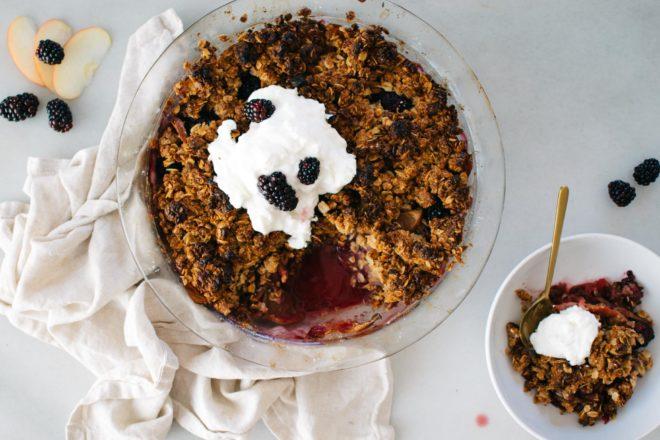 Pamela's Apple Blackberry Breakfast Crisp