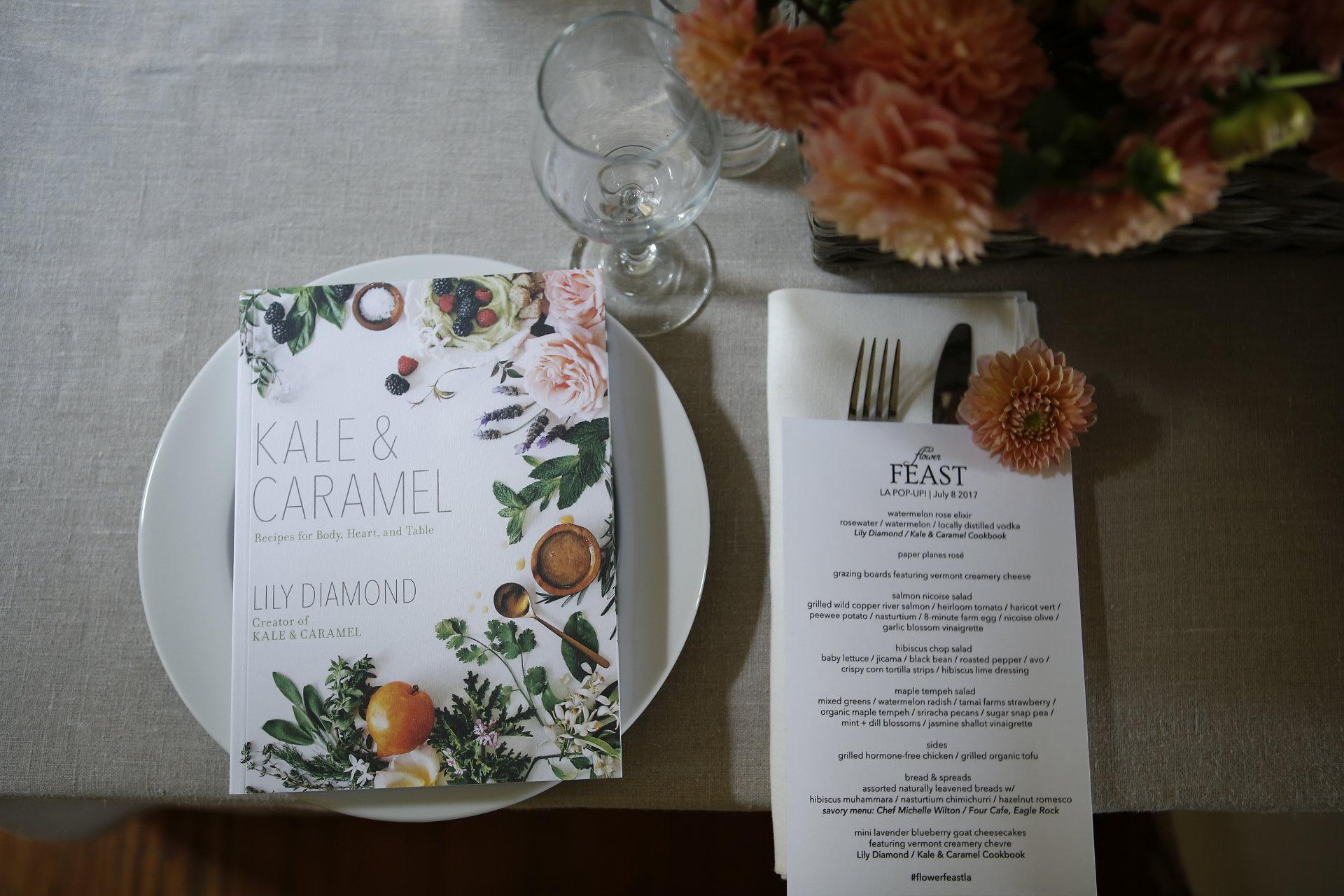Kale & Caramel Flower FEAST LA