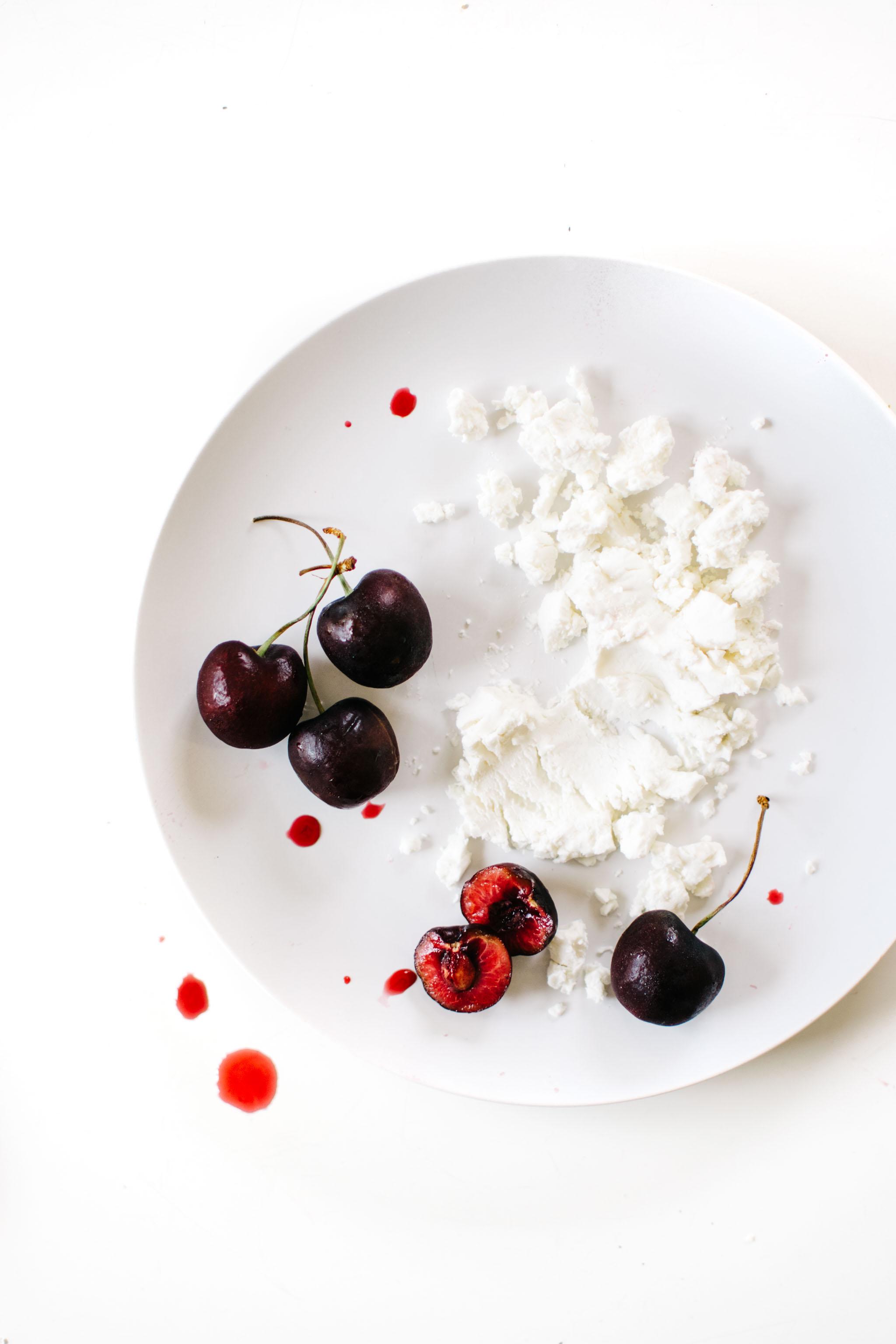 Chèvre Cherry Buttermilk Ice Cream
