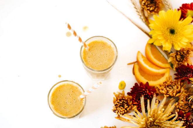 Orange Pumpkin Spice Smoothie