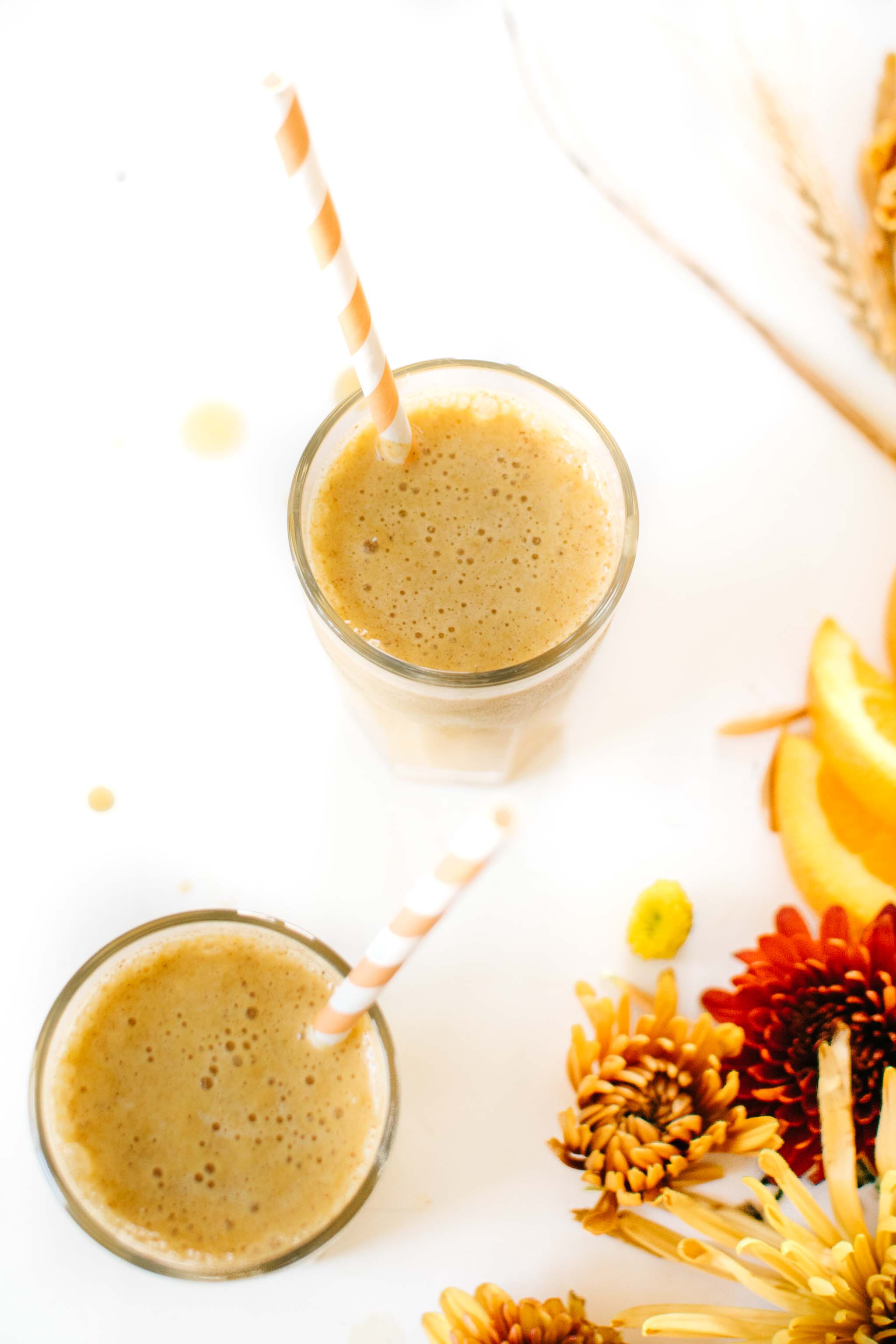 Orange Pumpkin Spice Smoothie