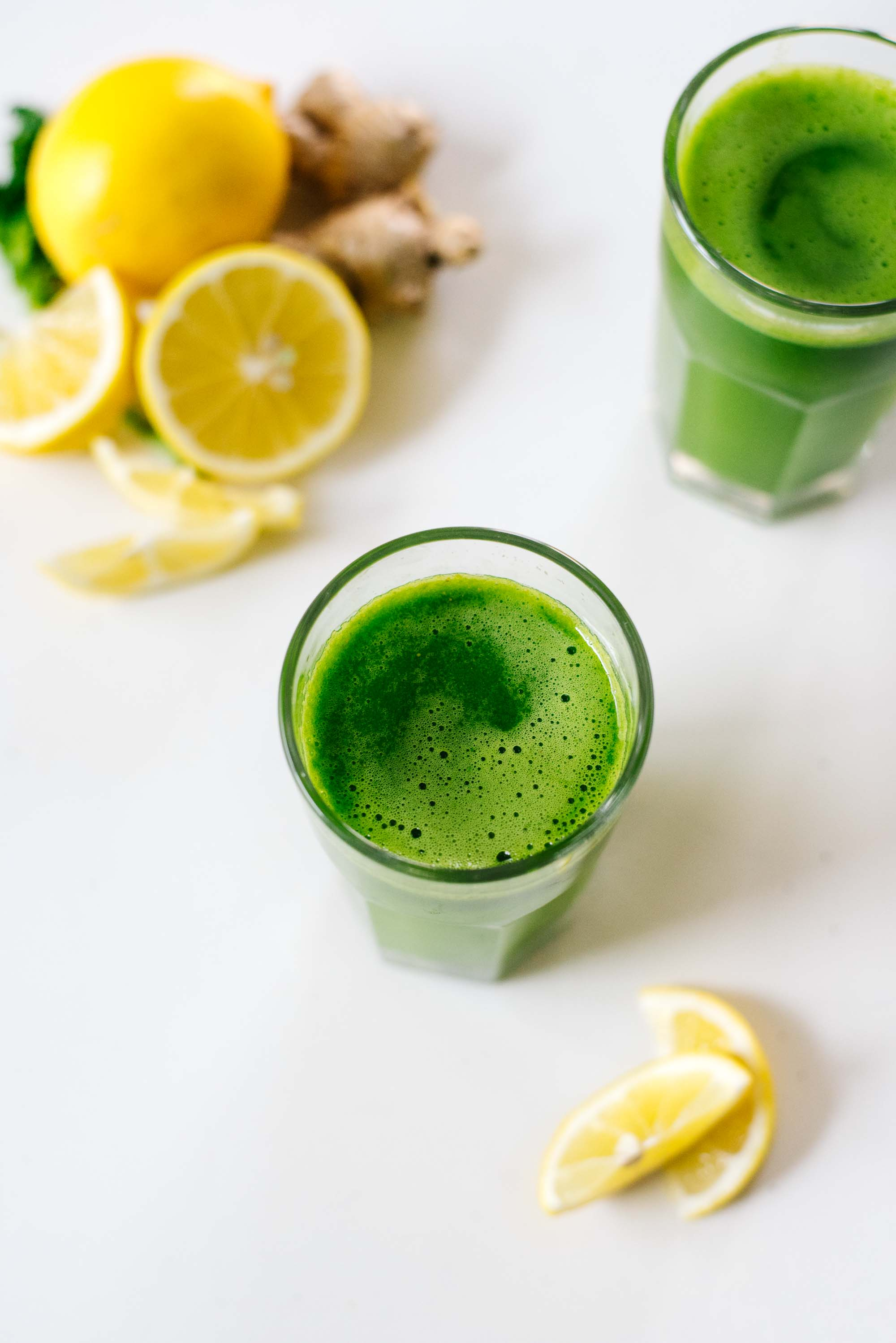 Winter Citrus Ginger Green Juice