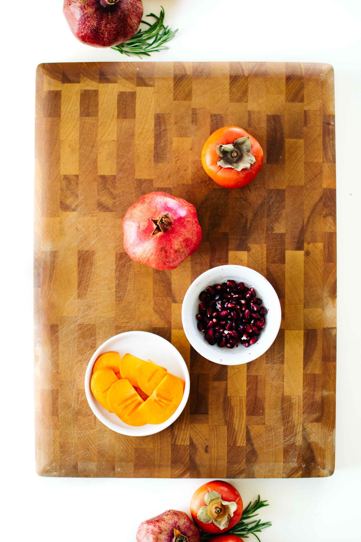 Winter Fruit & Cheese Board