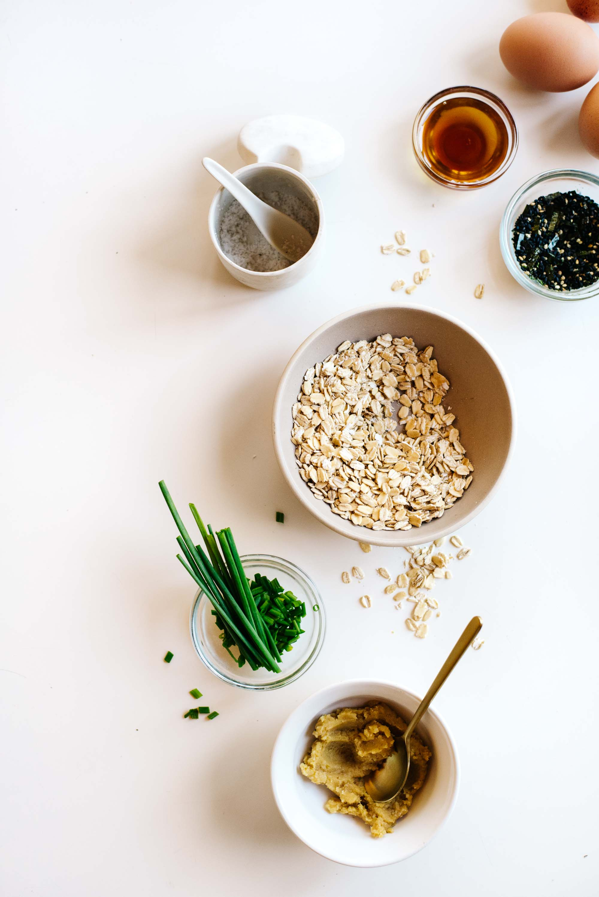 MISO OATS WITH SCALLIONS + SESAME OIL FROM MORE WITH LESS. | Kale ...