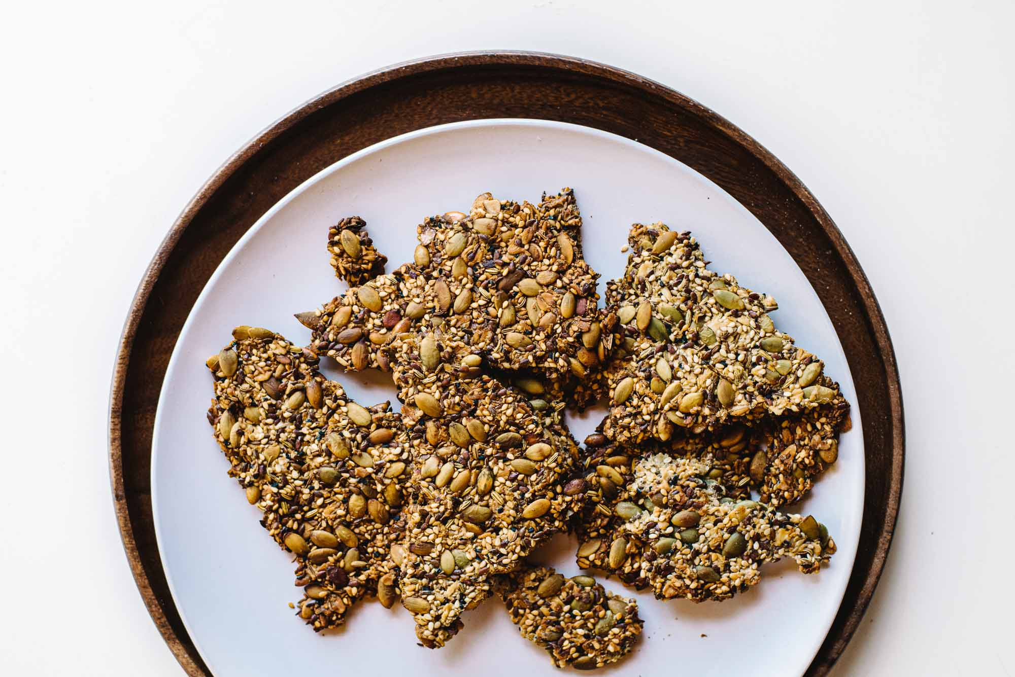 Oat & Seed Crackers